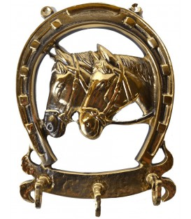 Łyżka Koń Mosieżna